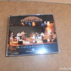 CDs de Música: DOBLE CD MILLADOIRO - AS FADAS DE ESTRAÑO NOME - GRAVADO EN CONCIERTO. Lote 173796199