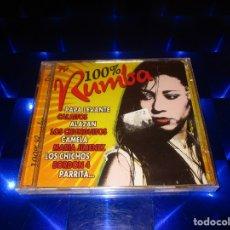 CDs de Música: 100% RUMBA - CD - 34-299 - DIVUCSA - PRECINTADO - PAPA LEVANTE - LOS CHICHOS - CAMELA - PARRITA .... Lote 173812243