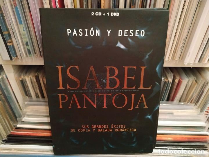 ISABEL PANTOJA - PASIÓN Y DESEO - 2 CD' S + 1 DVD - DESCATALOGADO (Música - CD's Pop)