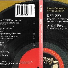 CDs de Música: DEBUSSY - GREAT RECORDINGS OF THE CENTURY - IMAGES, ETC. - ANDRÉ PREVIN. Lote 173820927