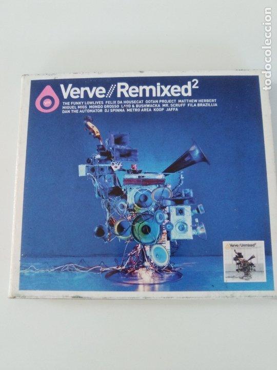 VERVE REMIXED 2 2CD ( 2003 ) WILLIE BOBO BETTY CARTER RAMSEY LEWIS CAL TJADER HUGH MASEKELA GILLESPI (Música - CD's Jazz, Blues, Soul y Gospel)
