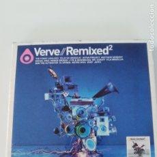 CDs de Música: VERVE REMIXED 2 2CD ( 2003 ) WILLIE BOBO BETTY CARTER RAMSEY LEWIS CAL TJADER HUGH MASEKELA GILLESPI. Lote 173834682
