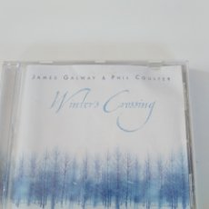 CDs de Música: JAMES GALWAY & PHIL COULTER WINTER'S CROSSING ( 1998 RCA ). Lote 173835982