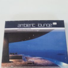 CDs de Música: AMBIENT LOUNGE 3 2CD ( 2001 GLOBE ) BASEMENT JAXX THIEVERY CORPORATION UNDERWORLD AROMABAR. Lote 173836794