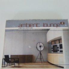 CDs de Música: AMBIENT LOUNGE 2 2CD ( 2001 GLOBE ) BASEMENT JAXX LAURENT GARNIER LUX STARGAZER DUSTED DELERIUM AIM. Lote 173836872