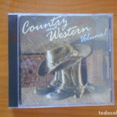 CDs de Música: CD COUNTRY AND WESTERN VOLUME ONE - VOLUME 1 (K5). Lote 173848357