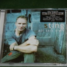 CDs de Música: STING - ALL THIS TIME (CD) 2001 . Lote 173850933