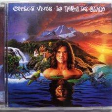 CDs de Música: CARLOS VIVES. LA TIERRA DEL OLVIDO. CD MERCURY 528 531-2. ESPAÑA 1995. COLOMBIA. VALLENATO.. Lote 173858332