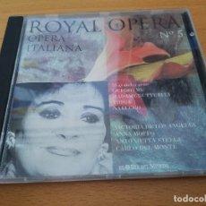 CDs de Música: ROYAL OPERA. OPERA ITALIANA Nº 5 (CD) EL DIA DEL MUNDO. Lote 173861317