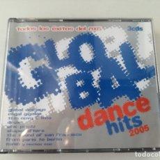CDs de Música: GLOBAL DANCE HITS 2005 - TODOS LOS EXXITOS DE...- TRIPLE CD BIT MUSIC 2005. Lote 173866928