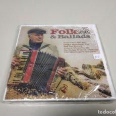 CDs de Música: JJ8- FOLKS SONGS & BALLADS 5 CD 2007 UK CD NUEVO PRECINTADO PRECIO LIQUIDACIÓN !!. Lote 173872043