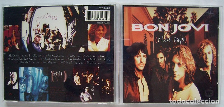 BON JOVI. CD'S. (Música - CD's Heavy Metal)