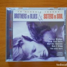 CDs de Música: CD BROTHERS IN BLUES AND SISTERS IN SOUL (P5). Lote 173895003