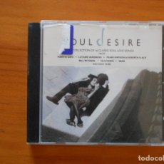 CDs de Música: CD SOUL DESIRE - A COLLECTION OF 16 CLASSIC SOUL LOVE SONGS (R5). Lote 173902714