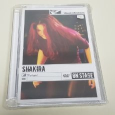 CDs de Música: JJ8- SHAKIRA MTV UNPLUGGED DVD NUEVO PRECINTADO PRECIO LIQUIDACION!!!. Lote 173913327