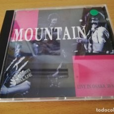 CDs de Música: MOUNTAIN. LIVE IN OSAKA 30/8/73 (CD). Lote 173915053