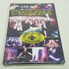 CDs de Música: JJ8- STRATOVARIUS INFINITE VISIONS DVD GERMANY NUEVO PRECINTADO PRECIO LIQUIDACION!!!!. Lote 173915123