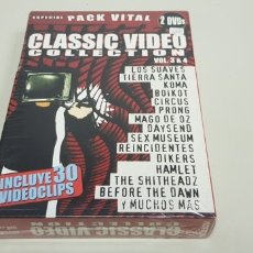 CDs de Música: JJ8- CLASSIC VIDEO COLLECTION 3-5 2 DVD PUNK ESPAÑOL RARO NUEVO PRECINTADO LIQUIDACION!!!. Lote 173918184