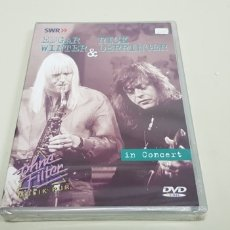 CDs de Música: JJ8- EDGAR WINTER RICK DERRINGER IN CONCERT NUEVO PRECINTADO PRECIO LIQUIDACION!!. Lote 173918618