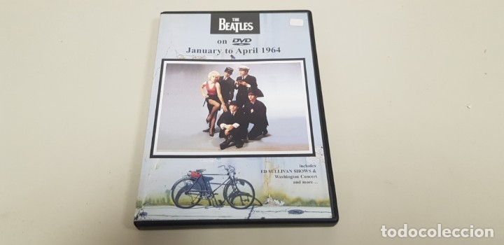 JJ8- THE BEATLES JANUARY TO APRIL 1964 DVD NUEVO SIN PRECINTO MUY RARO PRECIO LIQUIDACION (Música - CD's Rock)