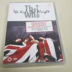 CDs de Música: JJ8- THE WHO THE KIDS ARE ALRIGHT DVD NUEVO PRECINTADO PRECIO LIQUIDACION!!!. Lote 173925555