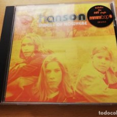 CDs de Música: HANSON. MIDDLE OF NOWHERE (CD). Lote 173940760