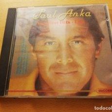 CDs de Música: PAUL ANKA. GREATEST HITS LIVE (CD). Lote 173940867