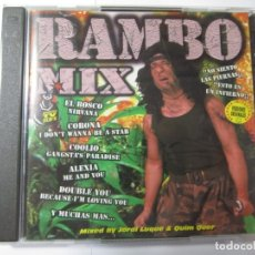 CDs de Música: DOBLE CD RAMBO MIX BLANCO Y NEGRO MUSIC AÑO 1996. Lote 173986397