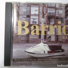 CDs de Música: CD BARRIO B.S.O MANO NEGRA AMPARANOIA HECHOS CONTRA EL DECORO EXTREMODURO. Lote 173989419