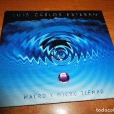 CDs de Música: LUIS CARLOS ESTEBAN MACRO Y MICRO TIEMPO CD ALBUM DIGIPACK 2009 OLE OLE VIDEO TECNO POP CONCIERTO. Lote 173992344