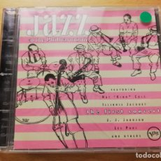 CDs de Música: JAZZ AT THE PHILHARMONIC: THE FIRST CONCERT (CD). Lote 173995559