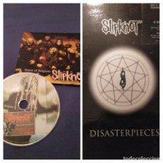 CDs de Música: LOTE SLIPKNOT, CD THE BEAST OF BELGIUM + 2DVD DISASTERPIECES. Lote 173998809