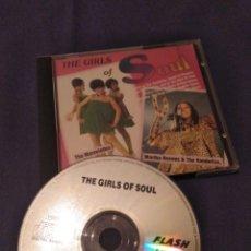 CDs de Música: GIRLS OF SOUL. THE SUPREMES, MARTHA REEVES & THE VANDELLAS, MARVELETTES.... Lote 173998877