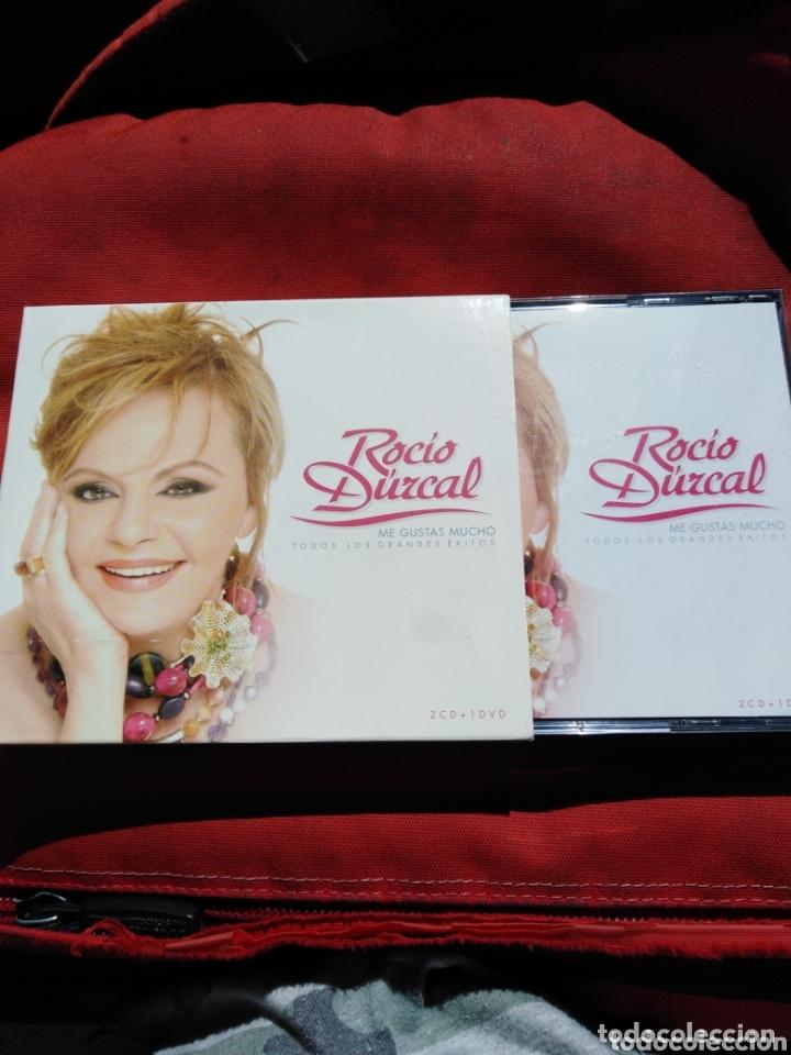 ROCÍO DURCAL-TODOS LOS GRANDES EXITOS-2 CD+1 DVD (Música - CD's Flamenco, Canción española y Cuplé)