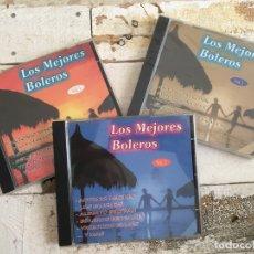 CDs de Música: LOTE 3 CD - LOS MEJORES BOLEROS. Lote 174058990
