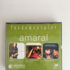 CDs de Música: AMARAL 3 CD FUNDAMENTALES. Lote 174066463