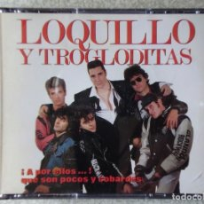 CDs de Música: LOQUILLO Y TROGLODITAS.A POR ELLOS...QUE SON POCOS Y COBARDES...DOBLE CD. Lote 174069145