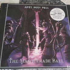 CDs de Música: CD AXEL RUDI PELL THE MASQUERADE BALL EDICION LIMITADA + POSTER GERMANY 2000. Lote 174072400