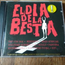 CDs de Música: EL DIA DE LA BESTIA BSO- CD - CON: EXTREMODURO, DEF CON DOS, KTULU, ESKORBUTO, SINIESTRO TOTAL.... Lote 174080545