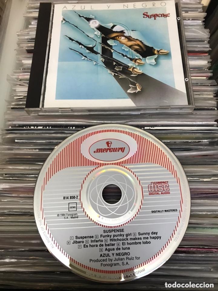 CDs de Música: Azul y negro Suspense cd Original Printed in west germany - Foto 2 - 174085808