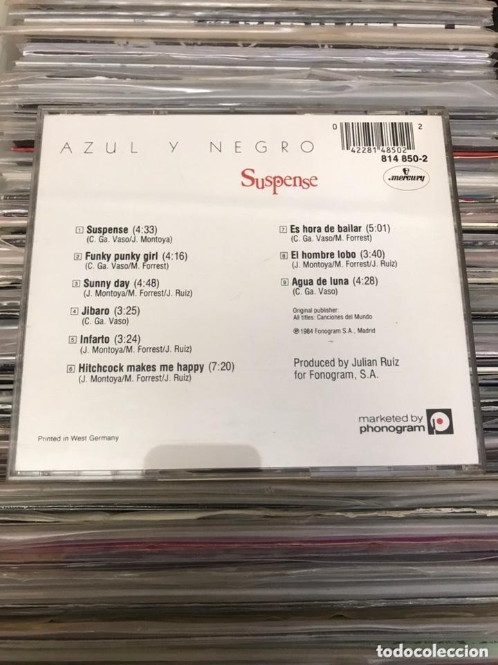 CDs de Música: Azul y negro Suspense cd Original Printed in west germany - Foto 7 - 174085808