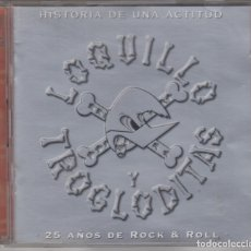 CDs de Música: LOQUILLO Y TROGLODITAS DOBLE CD HISTORIA DE UNA ACTITUD 2002 25 AÑOS DE ROCK & ROLL. Lote 174094907
