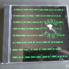 CDs de Música: ROGER WATERS -RADIO KAOS. Lote 174132093