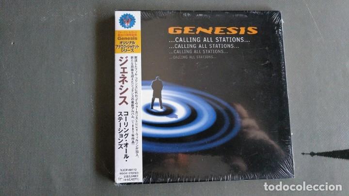GENESIS - CALLING ALL STATIONS - CD -EDICIÓN JAPÓN -PRECINTADO (Música - CD's Rock)