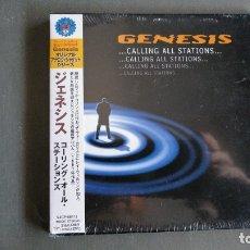 CDs de Música: GENESIS - CALLING ALL STATIONS - CD -EDICIÓN JAPÓN -PRECINTADO. Lote 174135207