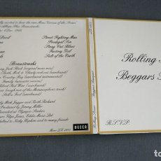 CDs de Música: ROLLING STONES - BEGGARS BANQUET - CD UNOFFICIAL CD + 7 BONUS TRACKS. Lote 174136903