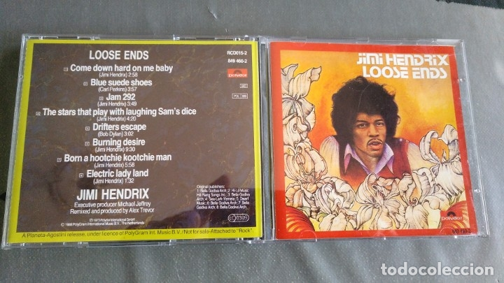 JIMI HENDRIX - LOOSE ENDS - CD (Música - CD's Rock)