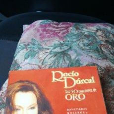 CDs de Música: ROCÍO DURCAL, SUS 50 CANCIONES DE ORO, PRECINTADO. Lote 174146887