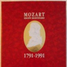 CDs de Música: MOZART - EDICION BICENTENARIO 1791 - 1991 - ESTUCHE CON 10 CD'S - GRANDES GENIOS DE LA MUSICA . Lote 174167820