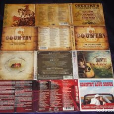 CDs de Música: * VARIOS : ( LOTE DE 15 CDS COUNTRY GREATEST HITS - 5 X 3 CD ) *. Lote 174193350